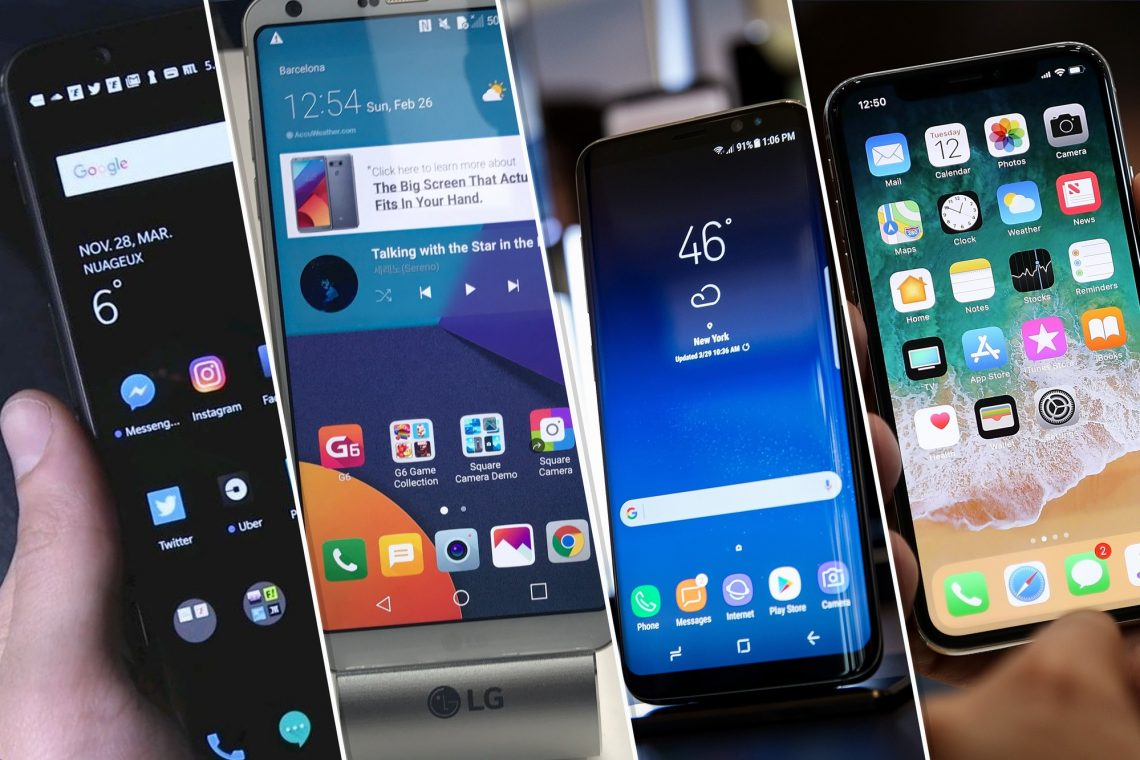 Les modèles de smartphone de 2019
